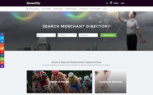Search Merchant Directory | RewardCity Google Chrome, Today at 4.44.20 PM
